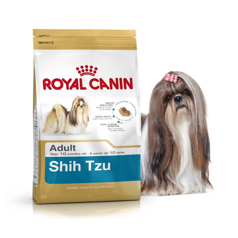 Royal Canin Shih Tzu Adult 1,5 кг для взрослых ши-тцу