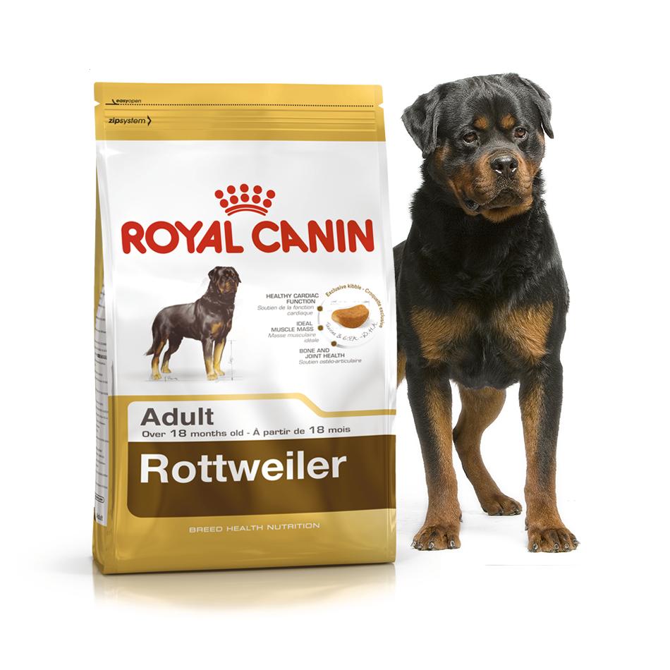 Royal Canin Rottweiler 12 кг для взрослых рвейлеров