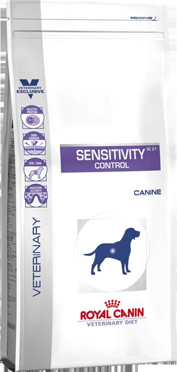 Royal Canin Sensitivity Control SC21 для собак при пищевой аллергии 14 кг