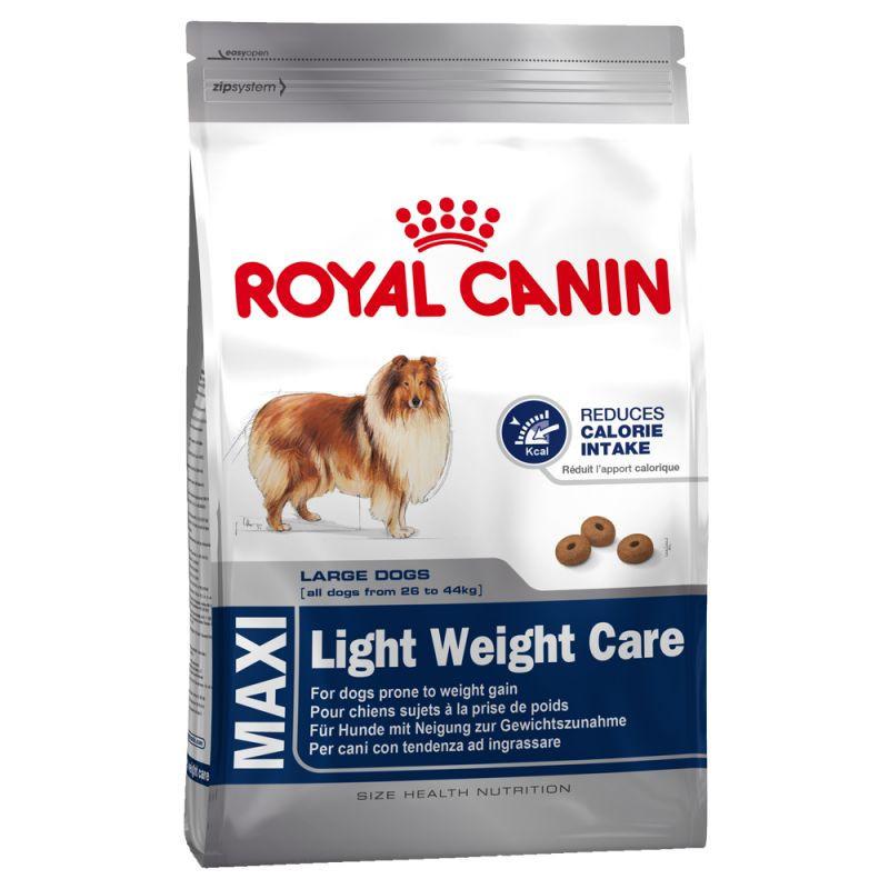 Сухой корм Royal Canin Maxi Light Weight Care для взрослых собак склонных к полноте 15 кг