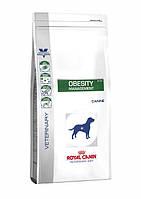 Royal Canin Obesity Management DP34 для собак при ожирении 1,5 кг