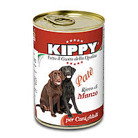 Паштет Kippy Dog для собак с говядиной, 400 г