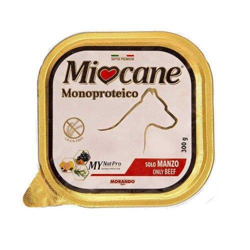 Консервы Miocane Monoproteico для собак с говядиной, 300 г