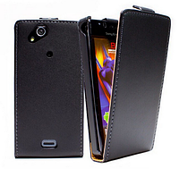 Чехол флип для Sony Ericsson Xperia Arc LT15i X12 S LT18i черный
