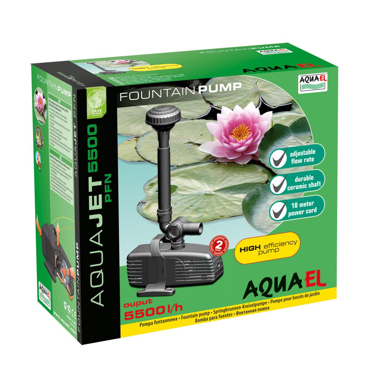 Помпа для фонтана Aquael Aquajet PFN-5500
