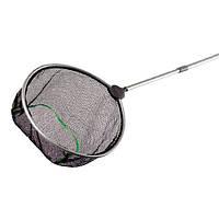 Сачок для пруда Hagen Laguna с телескопической ручкой, круглый, 30 см,