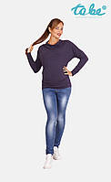 To be Брюки джинсовые для беременных синие To be, арт.1363732-6