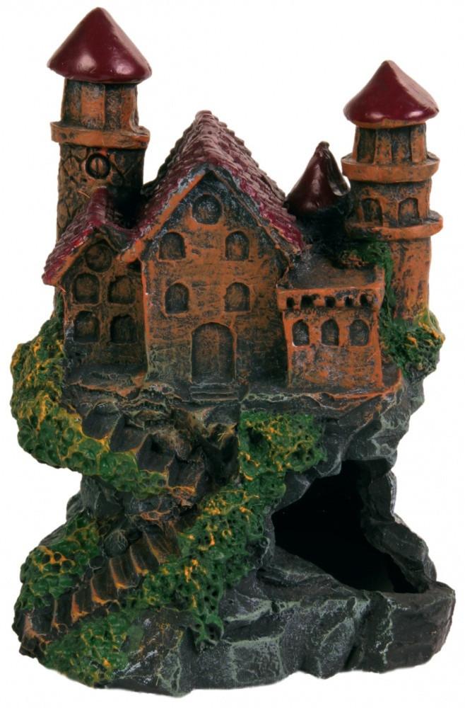 Замок Trixie Castle для аквариума декоративный, полиэфирная смола, 13 см
