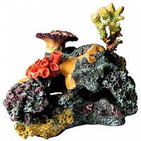 Декорация Trixie Coral Reef для аквариума коралловый риф, полиэфирная смола, 32 см