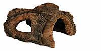 Коряга-гр Trixie Tree Stump для аквариума декоративная, 21 см