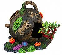 Амфора римская Trixie Pot для аквариума декоративная, полиэфирная смола, 12 см
