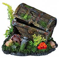 Декорация Trixie Treasure Chest для аквариума, полиэфирная смола, 17 см