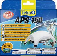 Компрессор Tetratec APS 150 для аквариума одноканальный белый