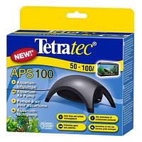 Компрессор Tetratec APS 100 для аквариума одноканальный черный