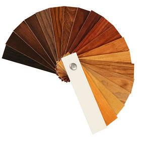 Бейци. Таблиця кольорів морилок для дерева