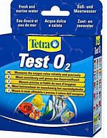 Тест Tetra Test Sauerstoff O2 для определения количества кислорода в воде аквариума