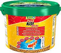 Tetra Pond Koi Sticks корм для карпов кои в палочках, 50 л