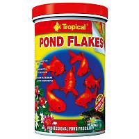 Tropical Pond Flakes корм для прудовых рыб в хлопьях, 1 л