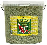 Tropical Koi & Gold Vegetable Sticks корм для прудовых рыб в палочках, 5 л