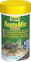Корм Tetra ReptoMin Junior для молодих черепах в паличках, 250 мл