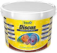 Корм Tetra Discus для дискусов в гранулах, 10 л