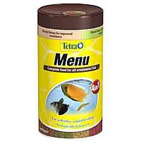 Корм Tetra Menu для рыб в хлопьях, 4 вида, 250 мл