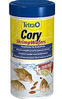 Корм Tetra Cory Shrimp Wafers для донных рыб в чипсах, 250 мл