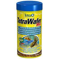 Корм TetraWafer Mix для донных рыб в таблетках, 250 мл