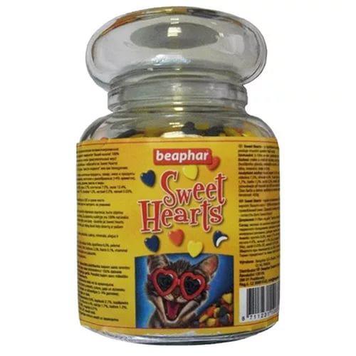 Лакомство Beaphar Sweethearts для кошек и кят, 1500 шт
