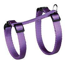 Поводок+шлея Trixie Cat Harness для кошек нейлоновая, 26-43 см, 1.2