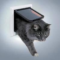 Дверь Trixie Free Cat de Luxe для кошек большая, 24х24 см