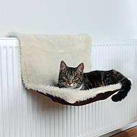 Лежак для кішок Trixie Radiator Bed на батарею плюшевий, 45х26х31 см