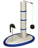 Когтеточка Trixie Scratch Me Scratching Post для кошек с мышкой, 40х30х50 см