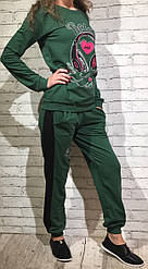 Женский спортивный костюм 2х нить Трикотаж пр-во Турция от 2 единиц