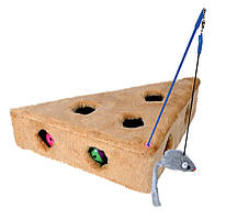 Игрушка Trixie Cat's Cheese для кошек меховая, 36х8х26 см
