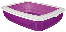 Туалет Trixie Cisco Litter Tray для кішок з рамкою, пластик, 38х11х50 см