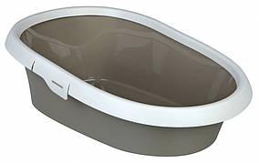 Туалет Trixie Paulo Litter Tray для кішок з рамкою, пластик, 39х17х58 см