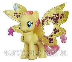 """Hasbro MLP Пони """"Делюкс"""" с волшебными крыльями Fluttershy"""