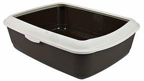 Туалет Trixie Classic Litter Tray для кішок з рамкою, пластик, 47х37х15 см