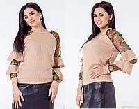 Кофта женская большие размеры (цвета) Г03690, фото 1