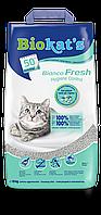 Наполнитель Gimpet Biokat's Bianco Fresh для кошек глиняный, 10 кг