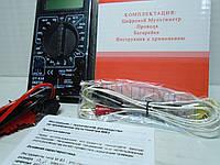 Мультиметр цифровой, тестер DT-838 с температурой
