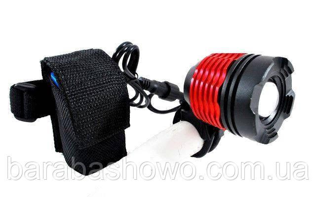 Качественный фонарик 2 в 1. Велосипедный и налобный