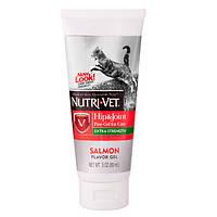 Витаминный комплекс Nutri-Vet Hip & Joint Paw-Gel для кошек, укрепление связок и суставов, 89 мл