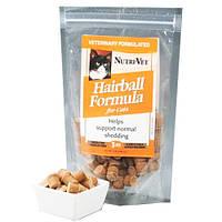 Витаминный комплекс Nutri-Vet Hairball Formula для кошек, выведение комков шерсти, 85 г