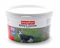 Кормовая добавка Beaphar Kitty's Junior для кят с биином, 1000 таб