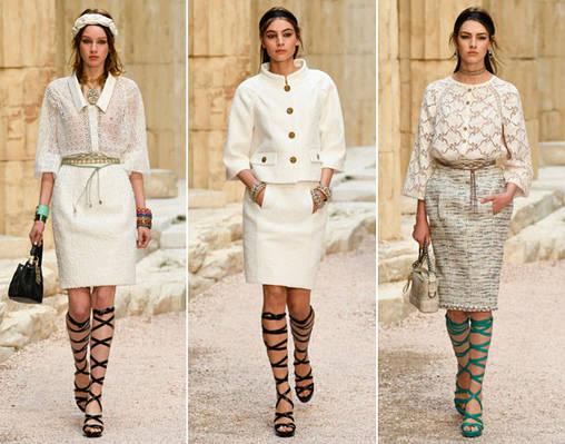 Модные тренды - коллекция Chanel весна-лето 2018