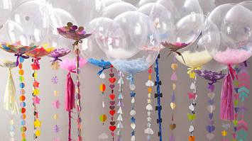 Прозрачные шары Babbles (баблс) и шары с наполнителями