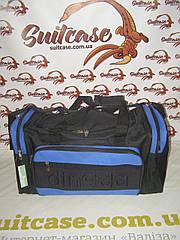 Дорожная сумка MagDa 42 Л - синие вставки