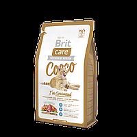 Brit Care Cocco I am Gourmand корм для привередливых кошек, 7 кг